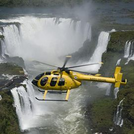Helikopter tour Foz do Iguacu Brazilie