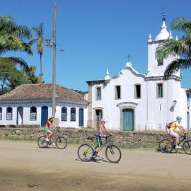 mountainbike excursie Paraty Brazilie