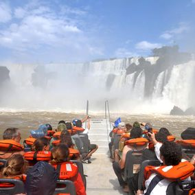Foz do Iguacu Gran aventura boot excursie Brazilie