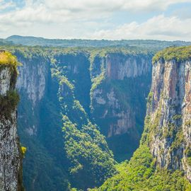 Cambara do Sul Canyons Brazilie