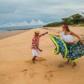 folklore dans Ilha do marajo in Brazilie