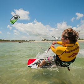 watersport kitesurfen Porto de Galinhas Brazilie