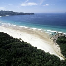 Praia do Lopes Mendes op Ilha Grande in Brazilie