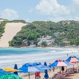 Morro do Careca, Ponta Negra Brazilie