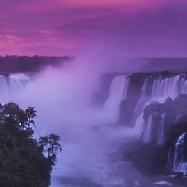 Foz do Iguacu zonsopgang Brazilie