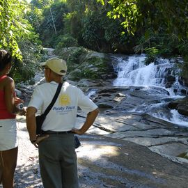 waterval jeep excursie Parati Brazilie
